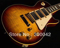 Custom Shop Limited Run Historic 1959 3 Pickup Gloss Bourbon Burst Electric Guitar By Spring