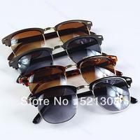 1Pari/LOT Sunglasses Retro Rivet Half Frame Eyeglasses Glasses Vintage