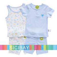 Free Shipping Baby Cotton Suits Summer Infant Wear,Cozy,Cute Sets  K1003