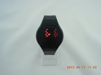 free shipping-- New arrival plastic LED Watch jelly LED digital Watch, 12 colors