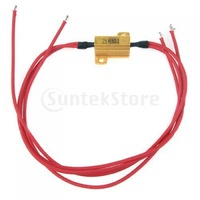 Free Shipping 25W 8ohm Load Resistance for Car Bike Turn Signal LED Bulb