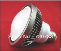 PC Cover E27 E26 Fin - Type  6W 12W High Power LED Par Spot Light 6x1W 6x2W LED Bulb Lamp AC85-265V DC12V DC24V