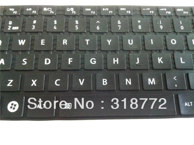 100PCS solid-Color Keyboard Skin Cover Protector for TOSHIBA Satellite L830,L800,M800,M805,C805D-T09B,C805D-T08B,P800,M840(China (Mainland))