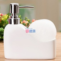 ceramic bottle of hand sanitizer / Soap / shampoo bottle leg
