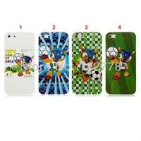 2014  Brazil   World  Cup  Cute Animal  Armadillo  Mascot Hard Cover  Case for iPhone 5