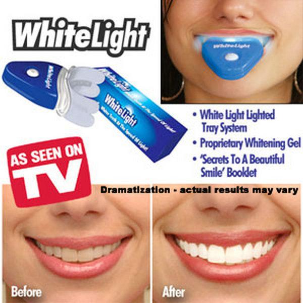 white light teeth whitening system led tooth whiten kit personal. Black Bedroom Furniture Sets. Home Design Ideas