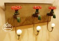 Litas iron faucet ceramic head vintage american home wool tieyi