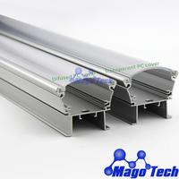 DHL/FEDEX /EMS Free shipping- 100CM  LED  washwall  Light housing for  24W  wash wall profile heatsink