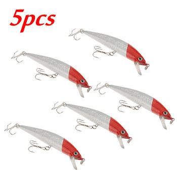 Новый дизайн 5 шт / Лот 100 мм Вибрация Рыбалка Рыба приманки снасти VCM Hook Оптовая Crankbait Swimbait Приманки Bass Бесплатная доставка