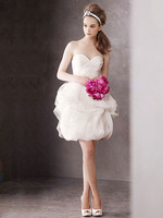 free shipping Luxury 2013 bridesmaid married fashion small short  cars formal dress