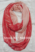 Free shipping wholesale and retail from 1pc lace jersey scarf snood jersey snood for ladies  newest style