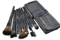 Professional Makeup Brush kit 15PCS/SET Black Basic face makeup,Cosmetic brush set blush / concealer / eye shadow brush HOT!
