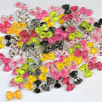 New 100pcs/pack 12 Mixed Colors Nail Resin Leopard Decoration Cell phone DIY Decoration Free Shipping
