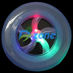 30Pcs/lot New 7 Color Hot Colorful Spin LED Light Outdoor Toy Flying Saucer Disc Frisbee UFO Kid Toy [8607|01|30](China (Mainland))