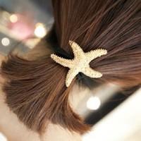 Free shipping Fashion gold fashion headband metal quality hair rope tousheng hair accessory hair accessory