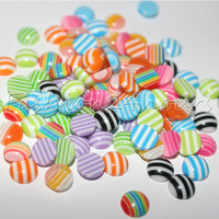 New 100pcs/pack 12 Mixed Colors Nail Resin Decoration Cell phone DIY Decoration Free Shipping