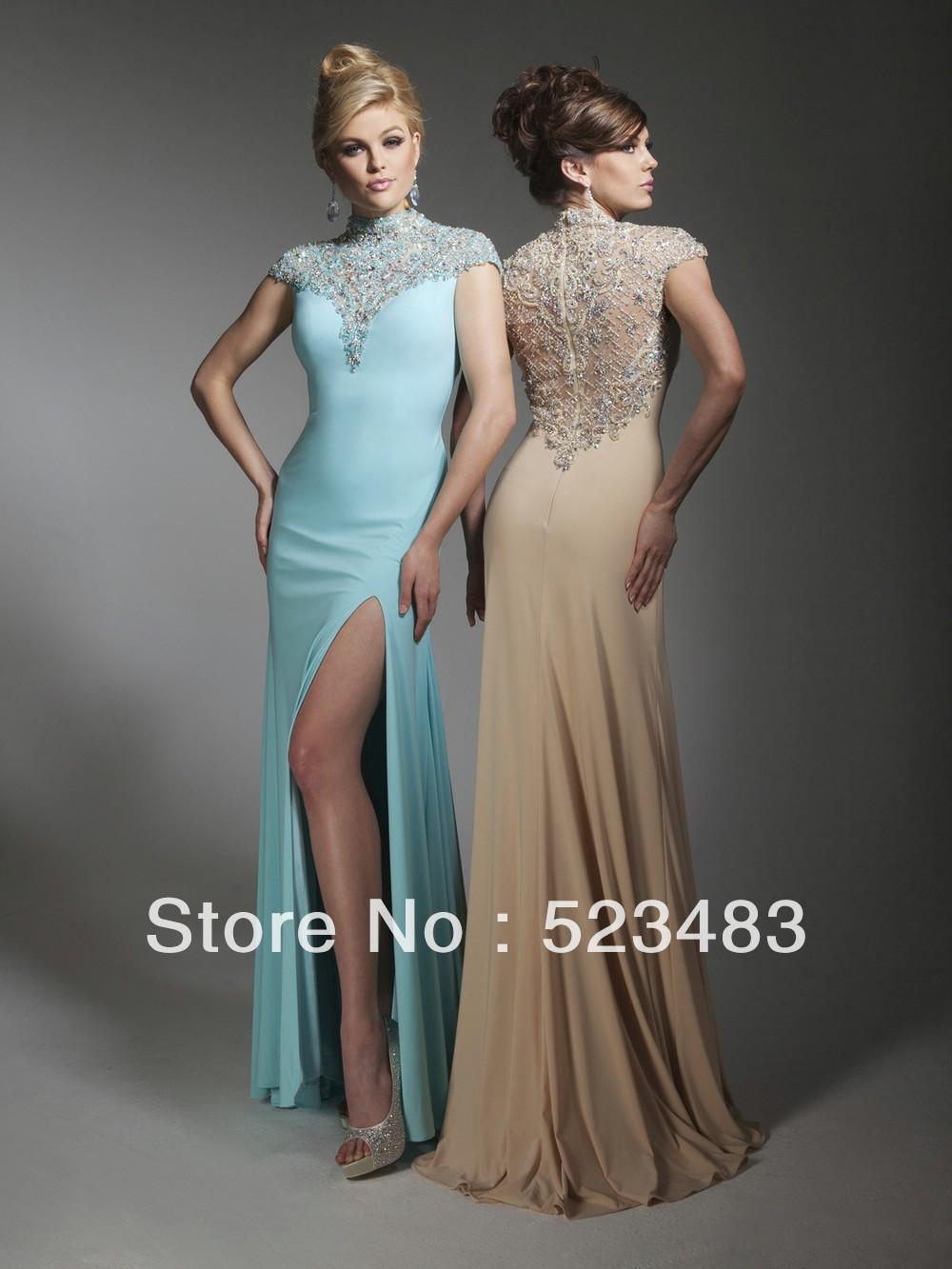 Classy Evening Dresses For Weddings 9