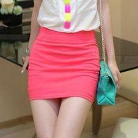 hot sale sexy elegance women short dress mini pencil skirts free size black,green, white,red g063984