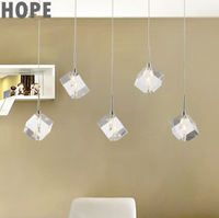 2013 new product modern simple style crystal pendant light  crystal lamp shade