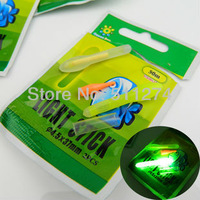 4.5mm*37mm Night Fishing Fluorescent Light Float Glow Stick.50 pcs/lot.Free shipping