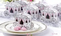 300PCS/Lot  Wedding Favor Cake Box gift box Candy box