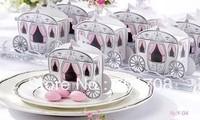300PCS/Lot  Wedding Favor Cake Box gift box Candy box