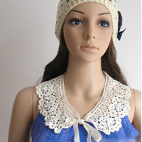 (Min.order  $15  Free Shipping)Europe and the United States fashionable joker petals lace collar necklace