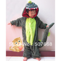 cute Pajamas dinosaur Cosplay Costume cartoon Pyjamas sleepwear Children coral Kigurumi