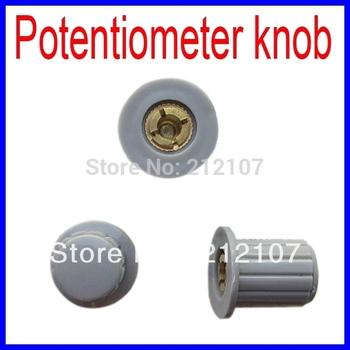 WXD3-13-2-W Special Coil Wire Wound Potentiometer Knob - Gray