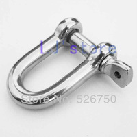 M8 Stainless Steel 304 Dee Shackles  5Pcs
