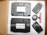 Promotion (Shipping Free)PKE Passive Keyless Entry Car Aalarm+window closer +Engine push start button