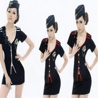 Mounted 2013 stewardess set sauna technicalness service set ds costume