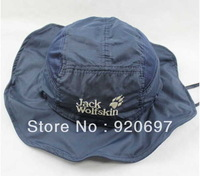 2013 outdoor multifunctional amphibious sunshade hat.bucket hat Crown removable empty with cap quick-drying cap cap