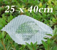 Free Shipping Wholesale 25 cmX 40 cm (100 pcs / lot) Pouches packaging PE bubble bags  254040