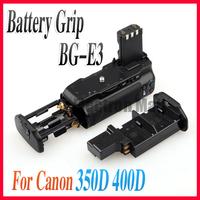 FREE SHIPPING!! Professional Battery Pack Grip for Canon EOS Rebel XT Xti 350D 400D DSLR Camera BG-E3! Drop shipping!