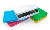 Free shipping 22x16x2.8cm 8inch MID E-Book Tin holder boxes ipad metal cases 8pcs/lot baking varnish