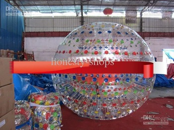 2015  Black NEW ZORB BALL 1.0TPU or 1.0mm PVC zorb ball GRASS BALL Dual harness with air blower tobe