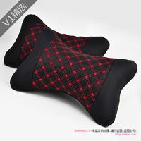 Arbitraging red wine redlining series sports car headrest auto neck pillow car pillow bone pillow