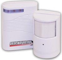 Driveway Patrol Wireless Security Alarm & Motion Sensor Indoor & Outdoor Use