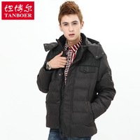 Hot salling Australia, United States Down coat male 2012 thickening fashionable casual short design ta19551
