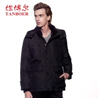 Hot salling Australia, United States Down coat thickening slim medium-long 2012 down coat male ta1971