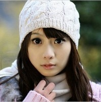 Min. order is $10(can mix order) HWE9181 2013 New Fashion Handmade Weave  Autumn and Winter Warm Hat ,hand knitting yarn Hat