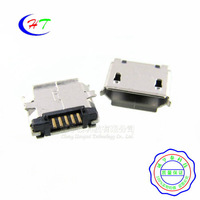Copper MicroUSB socket MK5P Mike 5P MINIUSB Micro USB 5-pin SMT Female