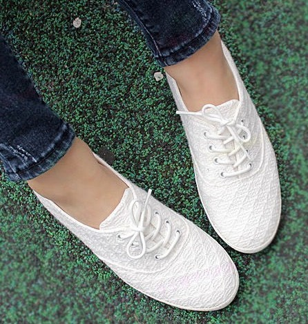 Women's shoes 13 boy lace breathable low canvas shoes casual flat single(China (Mainland))
