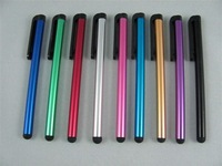 Metal Capacitive Screen Stylus Pen Touch Pen For iPhone, iPad, iTouch, Samsung Galaxy, Samsuang Pad Tablet PC Cellphone 200pcs