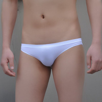 Free shipping Boy's Low-waist super sexy briefs male panties brief seamless ultra elastic seamless underwear