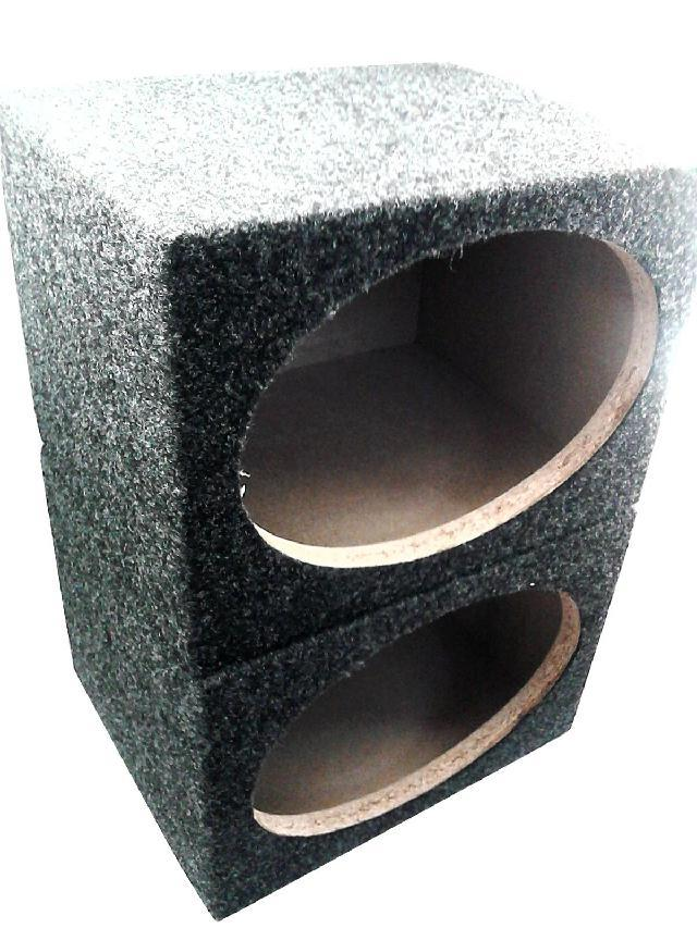 Car 6 x 9 speaker square wooden box bass box speaker a pair of solid wood(China (Mainland))