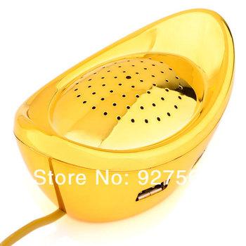 Golden Ingot Speaker Combo With USB HUB & Card Reader Free Shipping