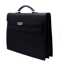 Commercial classic litchi male cowhide handbag briefcase