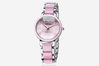 F05411 1 Piece Elegant Brand Quartz Bracelet Wrist Watch Stainless steel With Imitation ceramic For Lady Woman Girl + Freeship